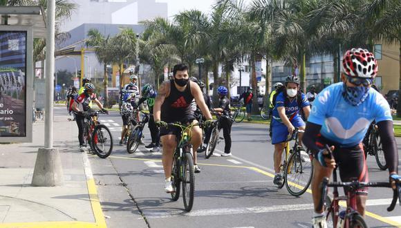 Los ciclistas que cometan infracciones podrían recibir multas desde el 2021. (Foto: GEC)