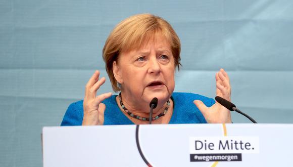 Angela Merkel. REUTERS