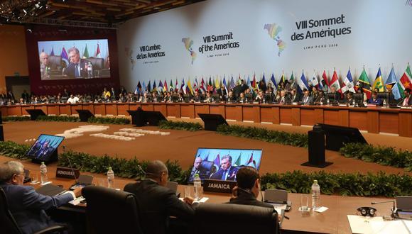 Cumbre de las Américas. (Foto: AFP)