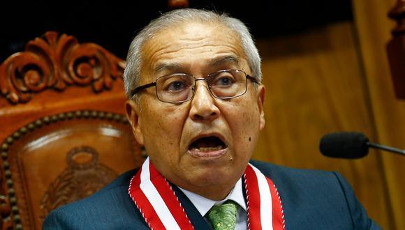 Fiscal Reynaldo Abia decidió no continuar la investigación contra Chávarry y los involucrados en el caso del deslacrado de una oficina. (Foto: GEC)