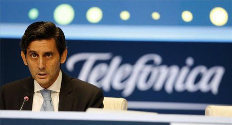 José María Álvarez-Pallete, presidente de Telefónica. (Foto: Reuters)