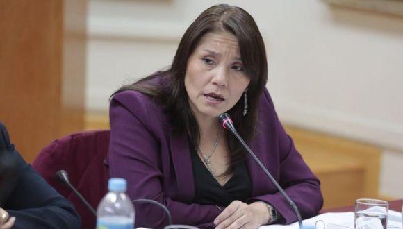 La ministra Paola Bustamante dijo que algún comentario suyo sobre el proyecto de ley podría ser tomado negativamente. (Foto: GEC)