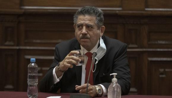 Manuel Merino de Lama, congresista de Acción Popular, viajó este domingo a Estados Unidos. (Foto: Renzo Salazar / GEC)