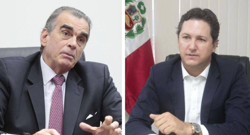 Pedro Olaechea y Daniel Salaverry