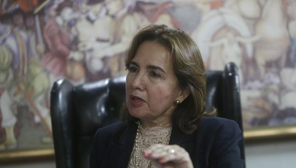 Elvia Barrios superó en votos a Héctor Lama para presidir el Poder Judicial. (Foto: GEC)