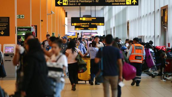 aeropuerto Jorge Chávez reabre sus puertas. (Foto: GEC