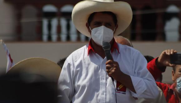 El Comité Ejecutivo Nacional de Perú Libre presentó el plan de gobierno de Pedro Castillo en sus primeros 100 días de gestión. (Foto: Randy Reyes)