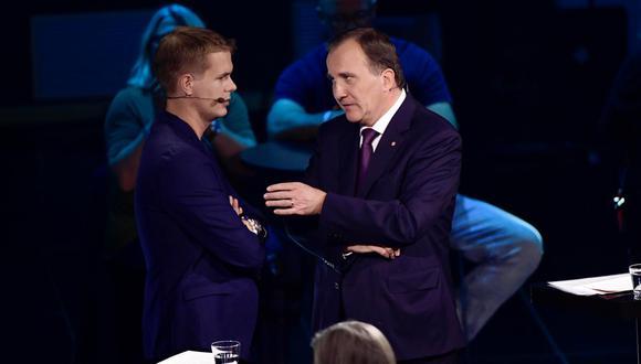 Debate en Suecia. (Foto: EFE).