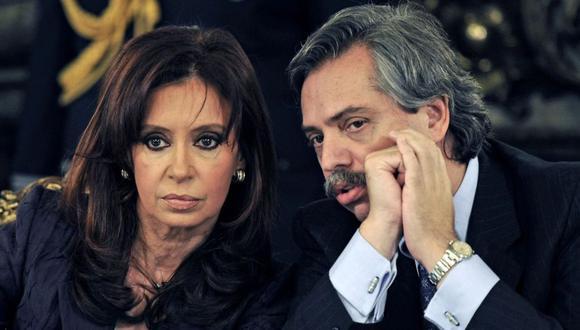 Alberto Fernández  es candidato a la presidencia con Kirchner como compañera de fórmula. (Foto: AFP)