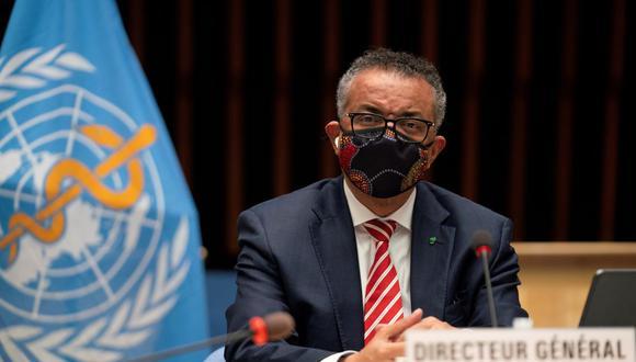 Tedros Adhanom Ghebreyesus, Director General de la Organización Mundial de la Salud (OMS). (Christopher Black / OMS / Folleto vía REUTERS )