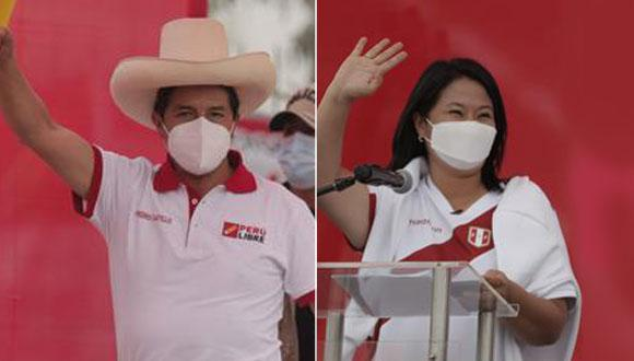 La ONPE continúa con el conteo de votos de la segunda vuelta de las Elecciones Generales 2021, en la que participaron los candidatos Pedro Castillo y Keiko Fujimori. (Foto: GEC)