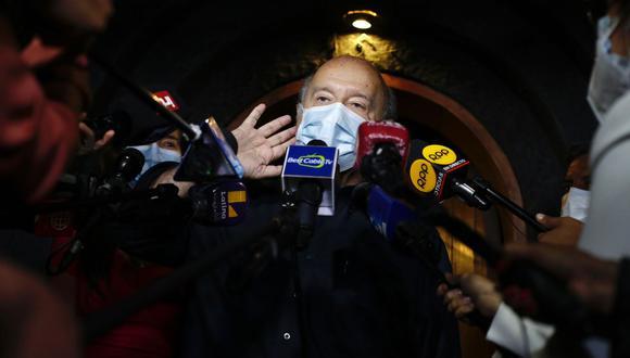"""Hernando de Soto dijo sentirse """"bastante sorprendido"""" con las declaraciones de Jorge Paredes Terry, coordinador del Pacto Social de Avanza País. (Foto: GEC)"""