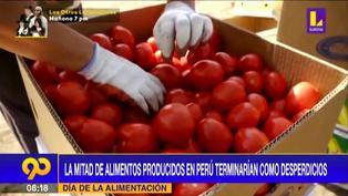 Día de la alimentación: En Perú la mitad de los alimentos producidos terminan como desperdicios