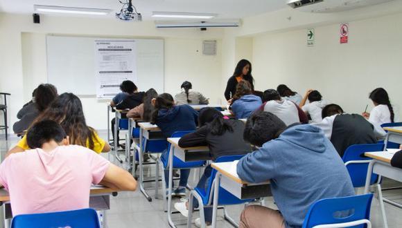 Estudio tomó en cuenta el promedio de puntaje en matemáticas y ciencias de estudiantes peruanos. (Foto: Andina)