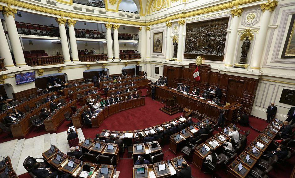 Pleno del Congreso debatió hoy sobre la ampliación del Régimen Especial de Jubilación Anticipada (REJA). (Foto: GEC)