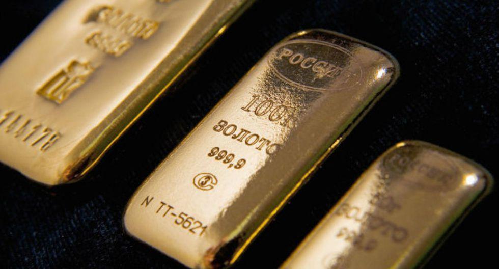 El oro al contado caía 0.1% a US$ 1,245.66 la onza hacia las 1109 GMT (Foto: Andina).