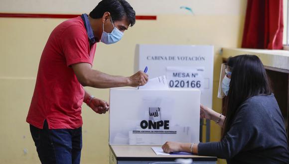 Las Elecciones Generales 2021 en Perú se realizarán en medio de la pandemia de COVID-19, por lo que se establecieron protocolos de seguridad para evitar el contagio. (Foto: GEC)
