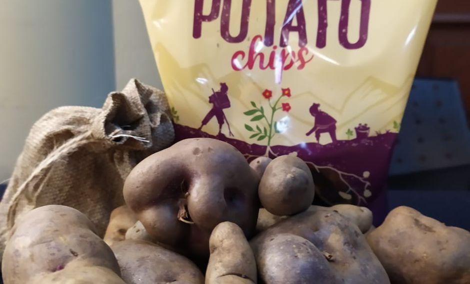 Vendieron a Estados Unidos 490,104 bolsas  de Peruvian Potato Chips.