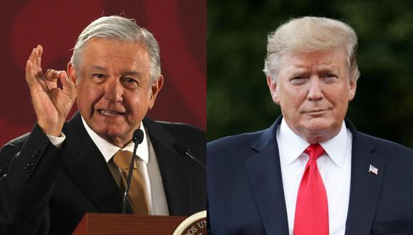 Andrés Manuel López Obrador y Donald Trump. (Foto: EFE)