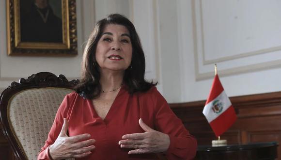 Martha Chávez, candidata de Fuerza Popular, lamentó el tener que competir con Rosa Bartra en las elecciones. (Foto: Rolly Reyna/ El Comercio)