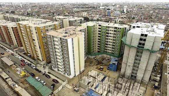 La meta del gobierno apunta a construir y mejorar 71,000 viviendas este año. (Foto: USI)
