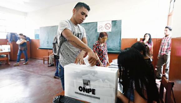 Realizar la primera y segunda vuelta de las elecciones movilizan a aproximadamente 25 millones de electores. (GEC)