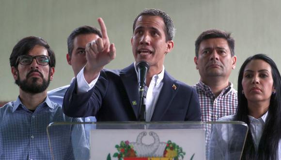 La oposición venezolana, liderada por Juan Guaidó, espera recurrir a un fondo extraordinario del FMI. (Foto: EFE)