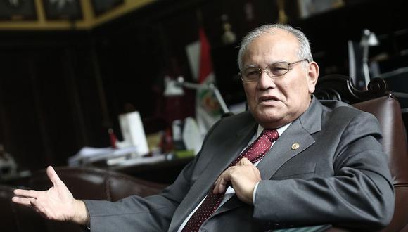 Jorge Alva Hurtado, rector de la UNI, deberá presentarse ante la Comisión de Fiscalización este viernes 14 de agosto. (Foto: GEC)