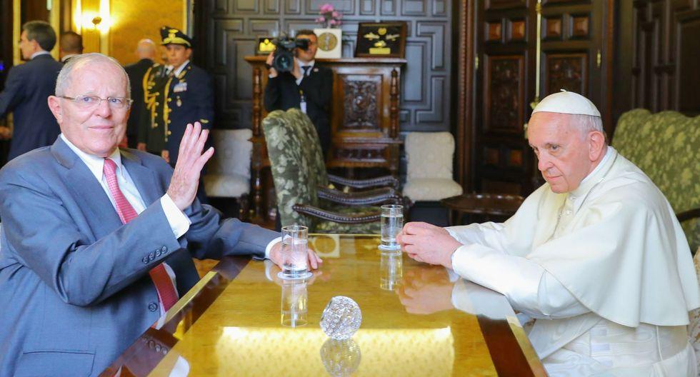PPK y el Papa.