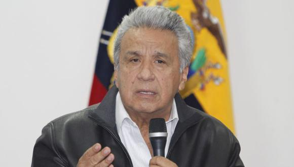 Lenín Moreno. (Foto: Difusión)