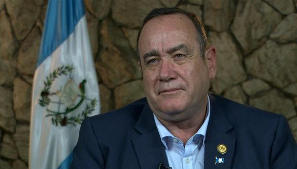 Alejandro Giammattei tiene tan solo diez meses como mandatario de Guatemala. (Foto: AFP)