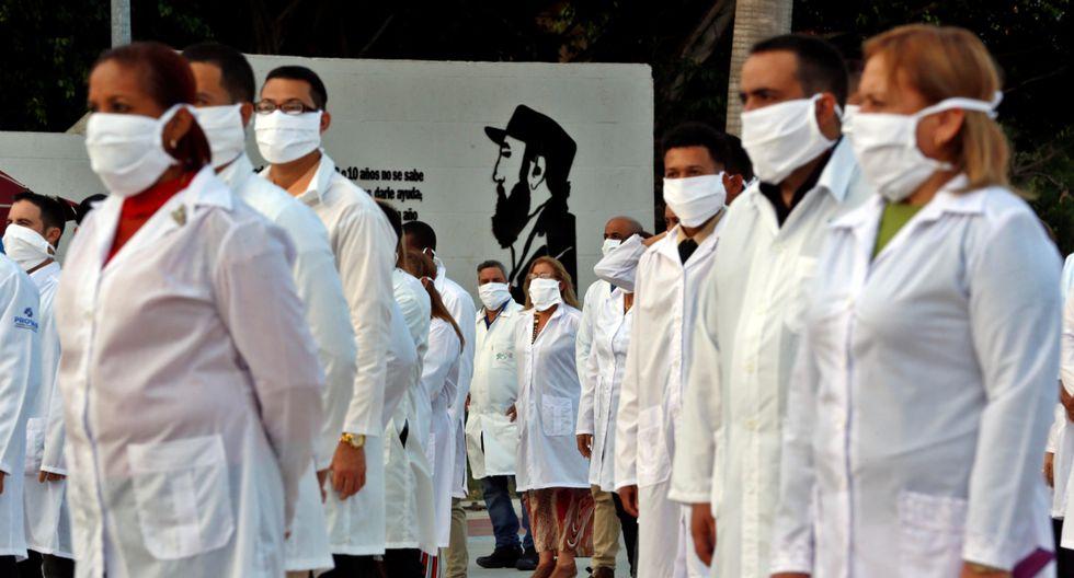 Cuba ha enviado brigadas de profesionales de la salud para contribuir en la lucha contra el coronavirus en diversos países. (Foto: EFE)