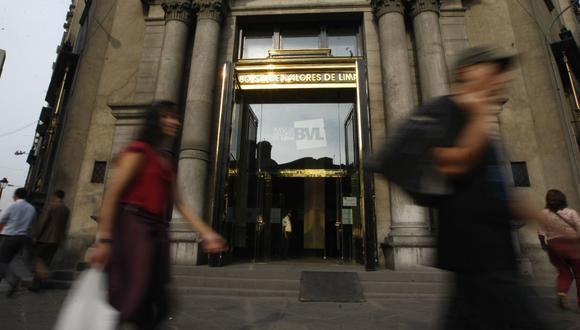 El indicador S&P/BVL Perú General, el más representativo de la bolsa, caía un -0.01%. (Foto: GEC)