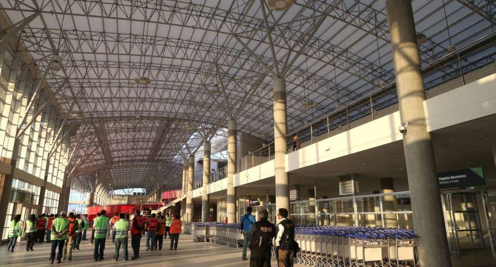 Aeropuerto de Pisco (Foto: Grupo EC)