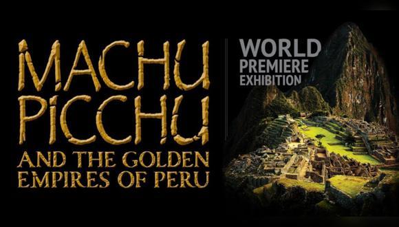 """Presentación de """"Machu Picchu y los imperios dorados del Perú"""" en el Museo de Arte de Boca Ratón, en Florida (Estados Unidos)."""