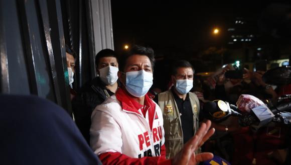 Pedro Castillo anunció la reprogramación de sus actividades proselitistas en Tacna, Moquegua y Arequipa. (Foto: GEC)