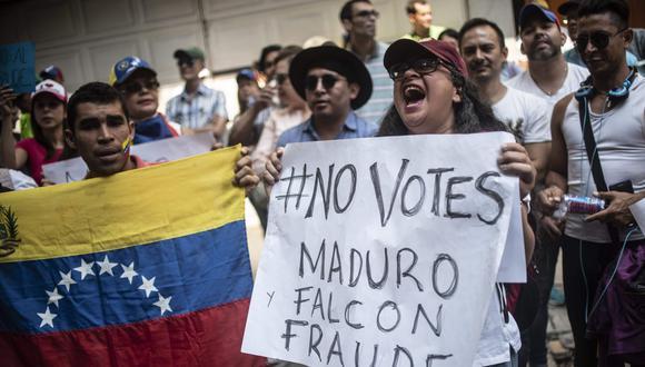Las autoridades electorales aún no han entregado un reporte oficial. (Foto: AFP)