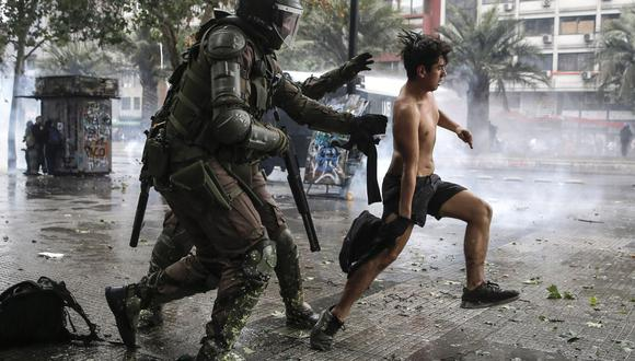 Protestas sociales en Chile (Foto: AFP)