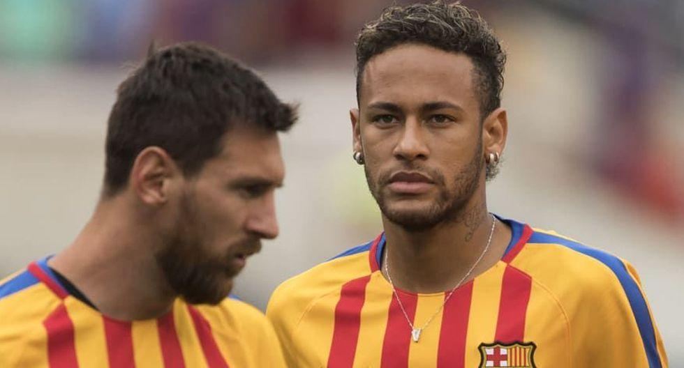 FOTO 9 | Lionel Messi y Neymar (33) El astro argentino y el brasileño coincidieron cuatro temporadas en el conjunto azulgrana. Su regate y olfato goleador les convirtieron en un auténtico terror para las defensas de LaLiga, que sufrieron sus actuaciones. Ambos, junto con Luis Suárez, formaban la delantera de ensueño conocida como la 'MSN'.