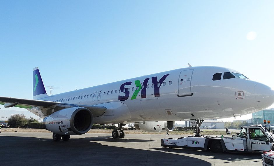 El primer avión de Sky en Perú despegará en el primer semestre de 2019, afirma la aerolínea.