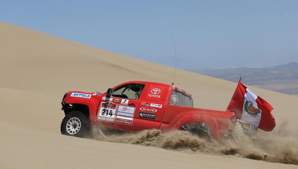 """La transferencia busca financiar la realización de los eventos deportivos """"Rally Dakar Perú 2019"""" y """"Dakar Series – Desafío Inca 2018. (Foto: EFE)"""