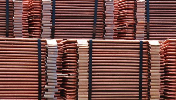 Los inventarios de cobre en depósitos registrados ante la LME están cerca de mínimos de 2005, en 75,700 toneladas. (Foto: GEC)
