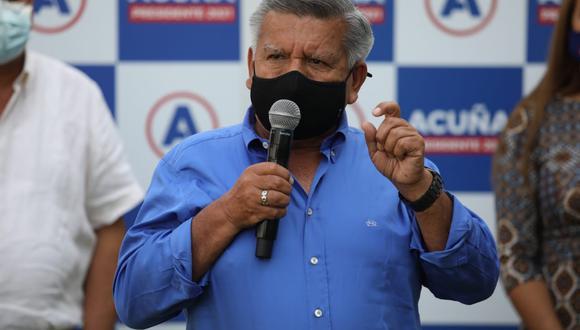 El partido APP, liderado por César Acuña, indicó que el respaldo a Keiko Fujimori no es un cheque en blanco. (Foto: GEC)