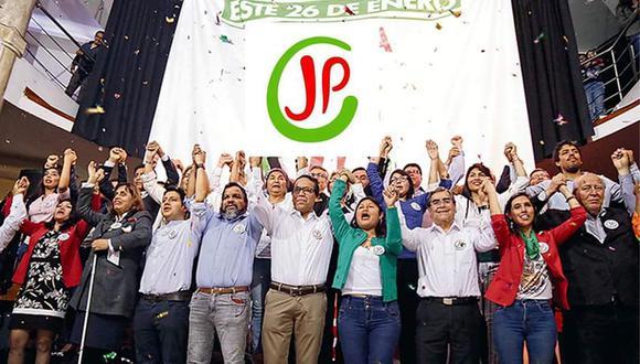 Juntos por el Perú obtiene 4,76% de votos válidos, según reportes oficiales de la la ONPE. (Foto: Difusión)