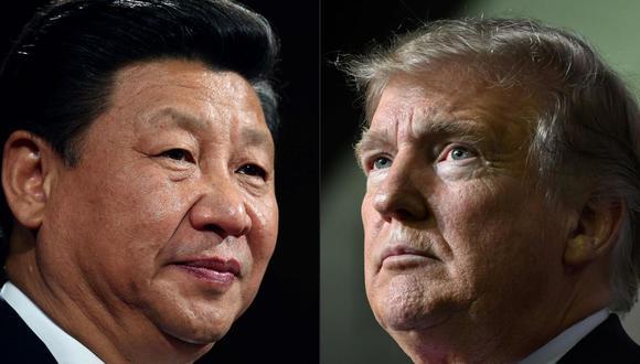 Donald Trump anunció en mayo que pondría fin a la relación comercial especial de Estados Unidos con Hong Kong en represalia por el estricto control de Pekín sobre el territorio. (AFP / POOL / Dan Kitwood AND Nicholas Kamm)