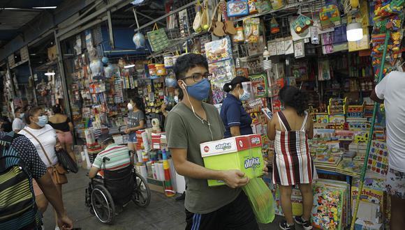 El Índice de Precios al Consumidor de Lima Metropolitana acumuló una variación de 1.46% en el primer trimestre del 2021. (Foto:  Leandro Britto / GEC)