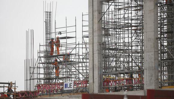El consumo de cemento es un proxy para determinar el desempeño del sector construcción. (Foto: Manuel Melgar   GEC)