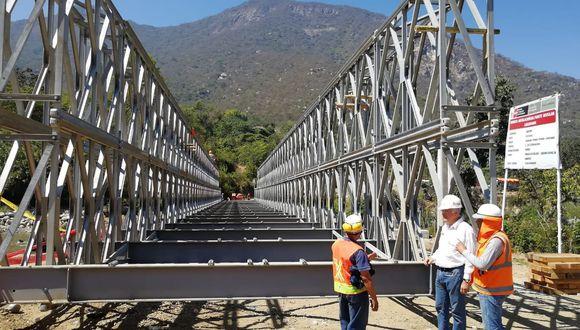 El proceso de reconstrucción de zonas afectadas por el Niño Costero continua. (Foto: Difusión)