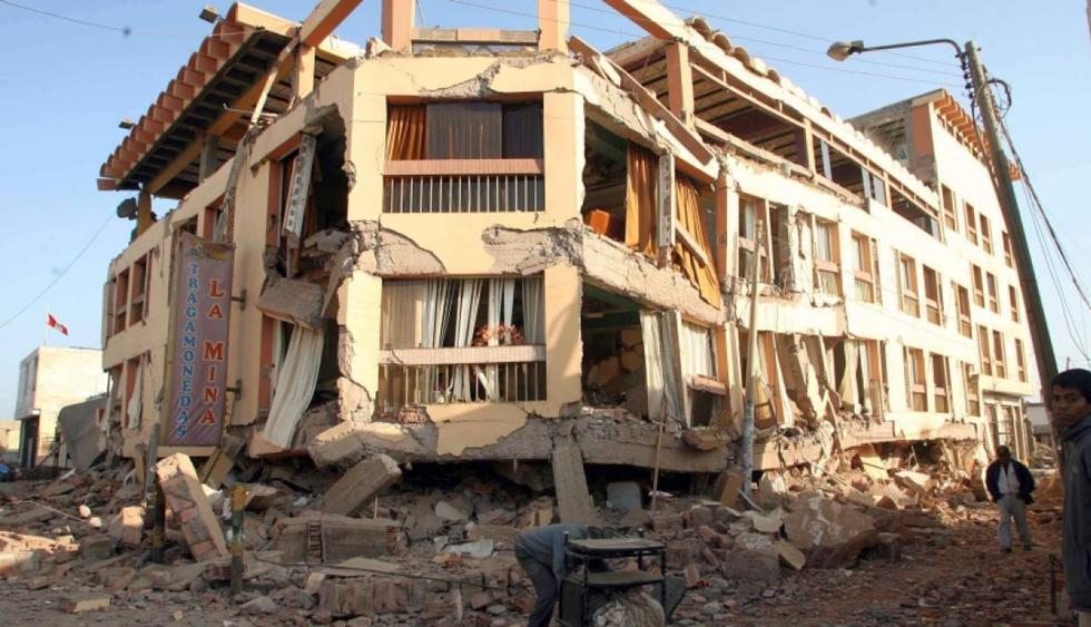 El terremoto en Pisco fue uno de los más destructivos en el Perú. (Foto: Rolly Reyna / Archivo GEC)