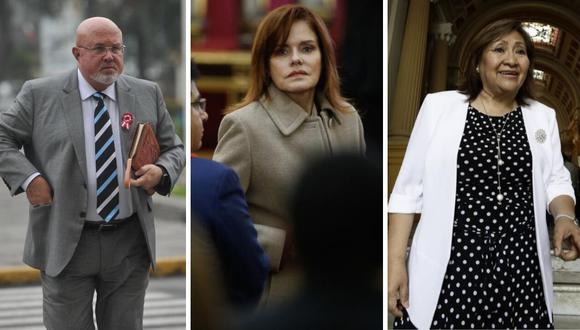 Carlos Bruce, Mercedes Araoz, Ana Choquehuanca